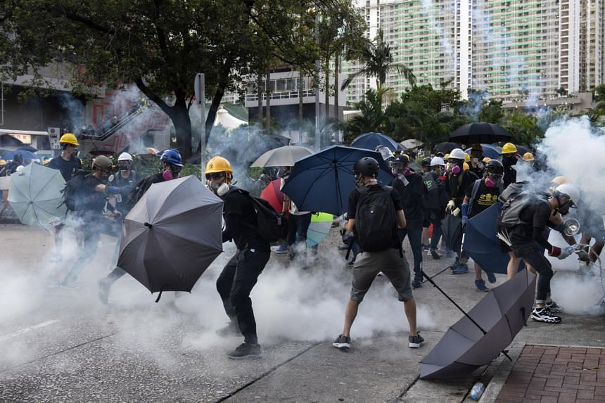 Police in recent weeks have already used far more tear gas than at any point in Hong Kong's history.