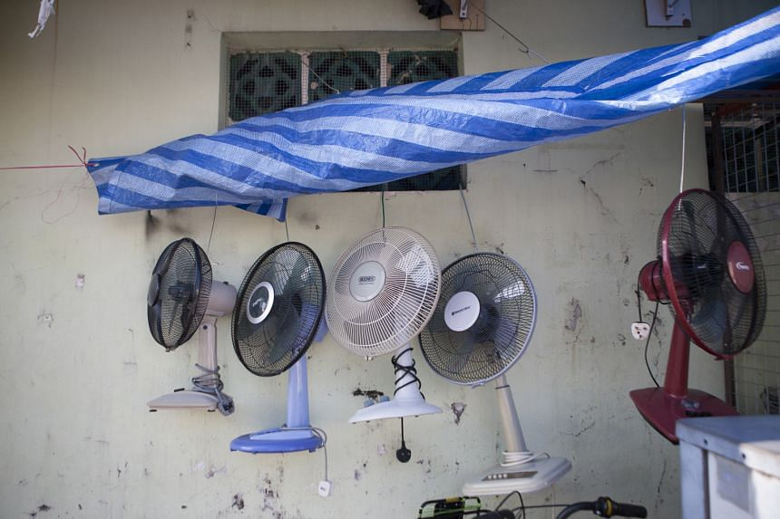 Mr Chou sells and repairs fans, charging from $15 to $40, mainly to migrant workers and the poor. Mr S.M. Kwok, 54, who lives nearby in North Bridge Road, has been taking fans to Mr Chou for fixing since the latter was a street hawker at the Sungei R