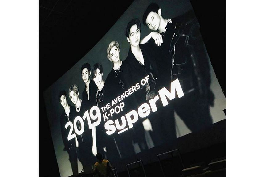 SuperM comprise recruits from existing top boy bands EXO, NCT and Shinee.