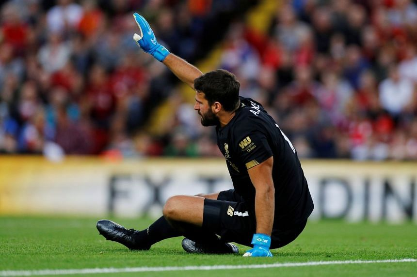 Image result for alisson injury 2019