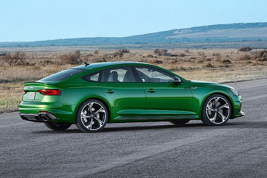 Audi RS5 Sportback lands in Singapore