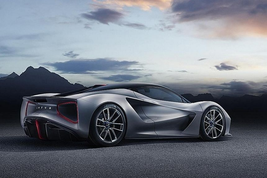 Futuristic 2,000hp Lotus snares first buyer