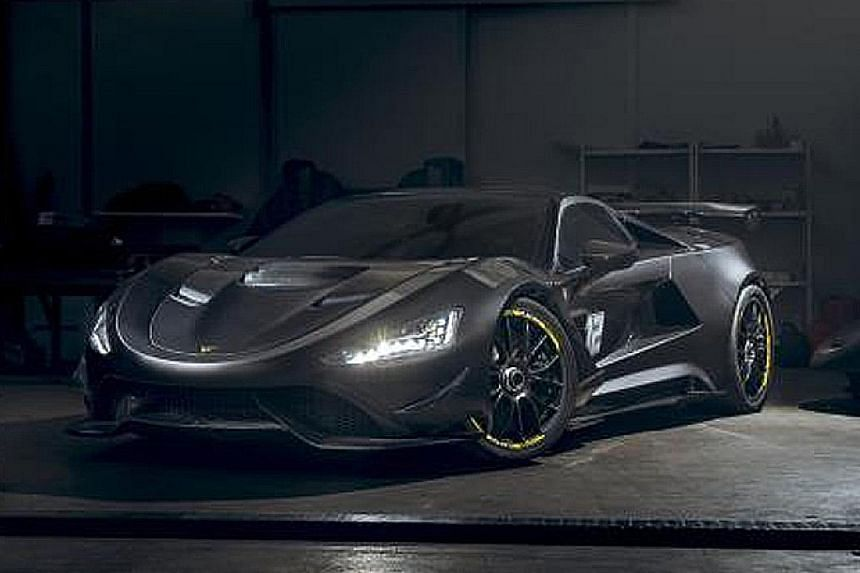 Slovenian carmaker Tushek to introduce 950hp supercar