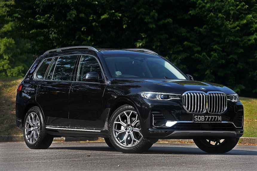 The BMW X7 has 450Nm of creamy torque available from 1,500rpm. With a 3.1m wheelbase, the BMW X7 accommodates three rows of seats. Unlike most three-row cars, it has a decent amount of stowage even when all seats are in use.