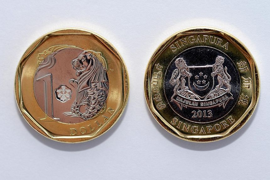 The bimetallic composition of the $1 coin makes it harder to counterfeit.