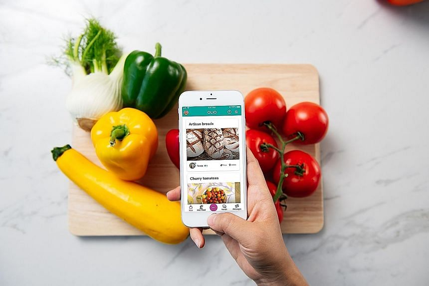The Olio app allows users to post pictures of unwanted, but safe and edible food. Users are alerted of food postings nearby, and can arrange a pick-up. Singapore is the first Asian country that Olio has ventured into, and the third-most active one in