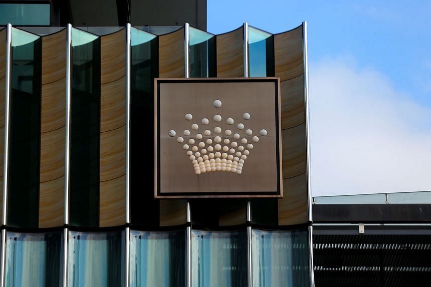 Recent reports said Crown had allegedly paid a money launderer to bring Asian gamblers to its casinos and had failed to adequately scrutinise its junket partners. PHOTO: CROWN RESORTS-EQUITY/ MELCO RESORTS