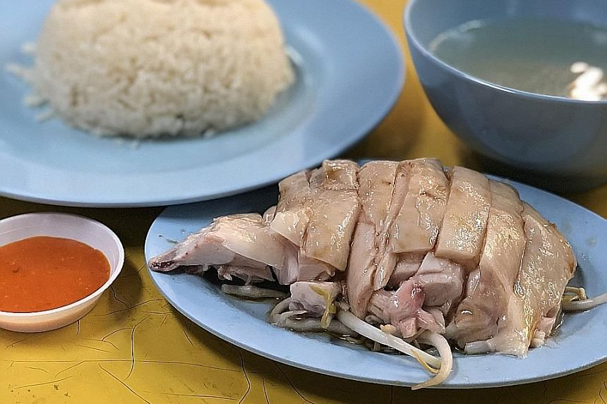 Leong Hainanese Chicken Rice