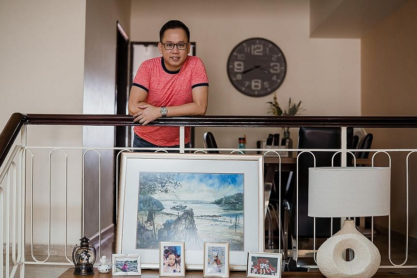 Mr Seetoh's investment strategy has enabled him to live in a landed home with a much bigger space without having to fork out the high instalments in buying a landed property.