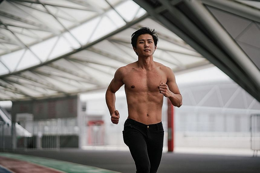 Mr Calvin Alexander Neo is one of 30 finalists at this year's Mr World Singapore pageant. In 2009, he was sentenced to 13 years' jail and 15 strokes of the cane. While in prison, he did well in his O and A levels, which secured him a place at NUS aft