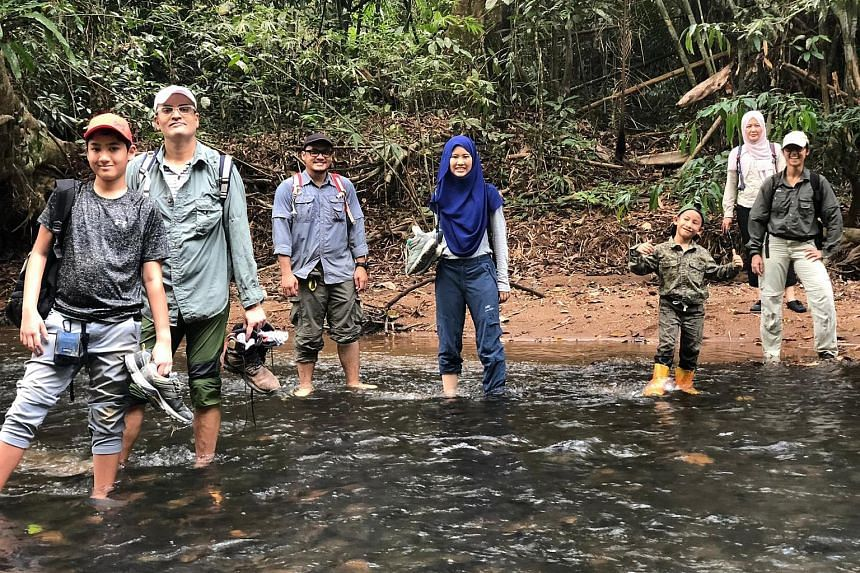 In the Saving Tigers Together Family Outreach programme, children and teens up to 17 years old travel to forested areas in Pahang, Malaysia, to spot signs of poaching.