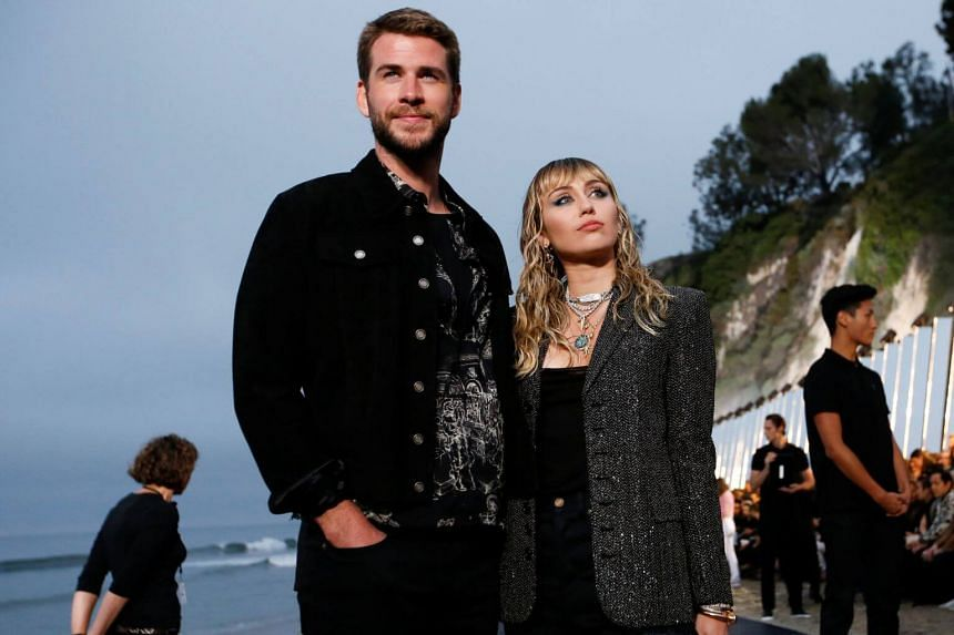 A representative of Miley Cyrus said the pair are going separate ways after they married in December 2018.
