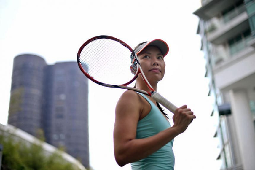 Sarah Pang broke into the Women's Tennis Association singles rankings after more than four years of training and touring, becoming only the eighth Singaporean woman to do so.