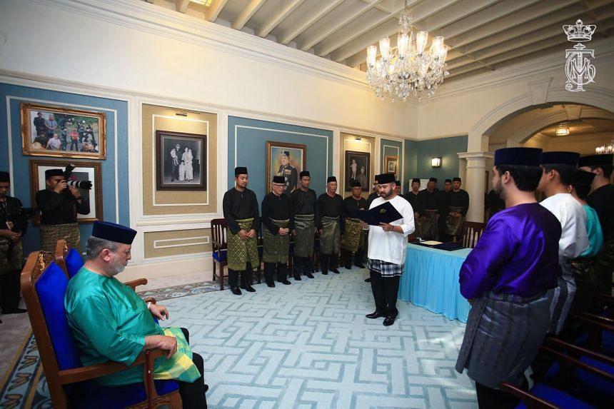 Johor Crown Prince Tunku Ismail Ibni Sultan Ibrahim was named the regent of the state by his father, Johor Ruler Sultan Ibrahim Ibni Almarhum Sultan Iskandar.