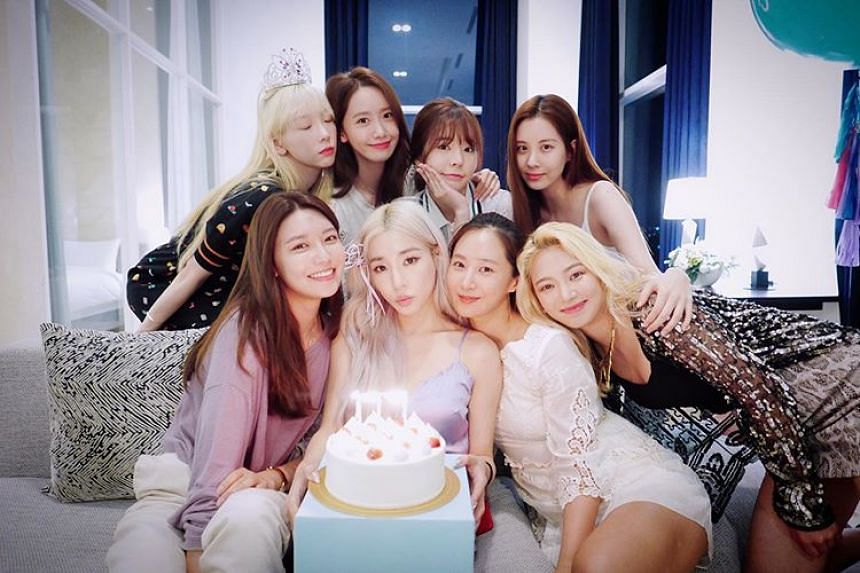 Tiffany Young recently celebrated her 30th birthday which gave an opportunity for all the eight members, including Young, of now-on-hiatus Girls' Generation to hold a reunion.