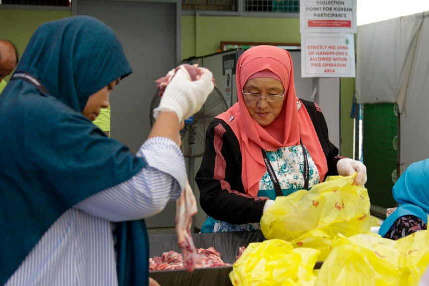 100 beneficiaries receive korban meat from Jamiyah Singapore