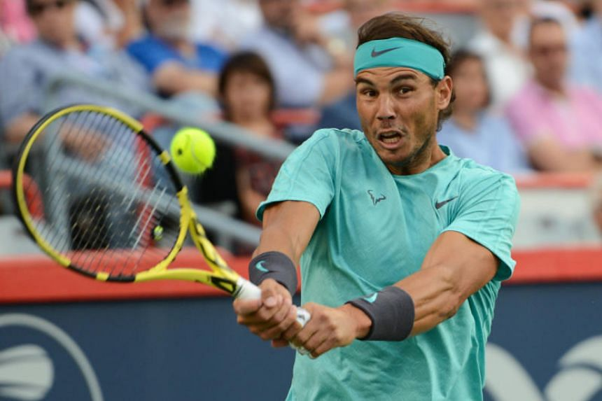 Rafael Nadal will aim for his fifth Canadian trophy on Sunday (Aug 11).