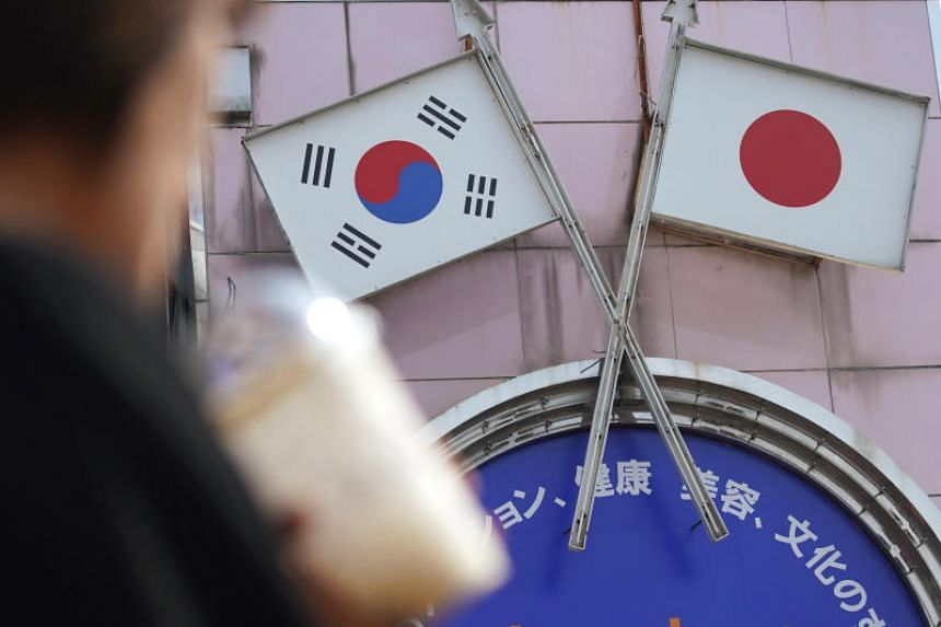 Seoul and Tokyo are embroiled in a bitter trade and diplomatic dispute over a series of South Korean court rulings ordering Japanese firms to pay for forced labour during Tokyo's colonisation of the peninsula.