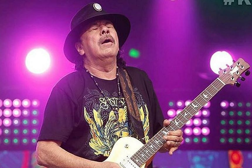 """Carlos Santana witnessed """"that people can get along, with unity and harmony""""."""