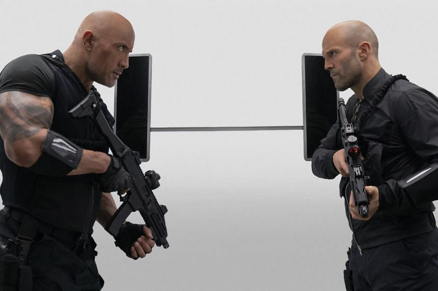 Dwayne Johnson is Luke Hobbs and Jason Statham is rogue British Special Forces mercenary Deckard Shaw in Fast & Furious Presents: Hobbs & Shaw.