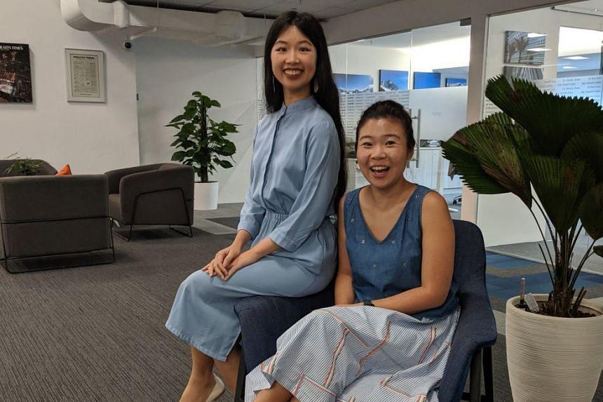 Life writers Olivia Ho (left) and Melissa Sim.