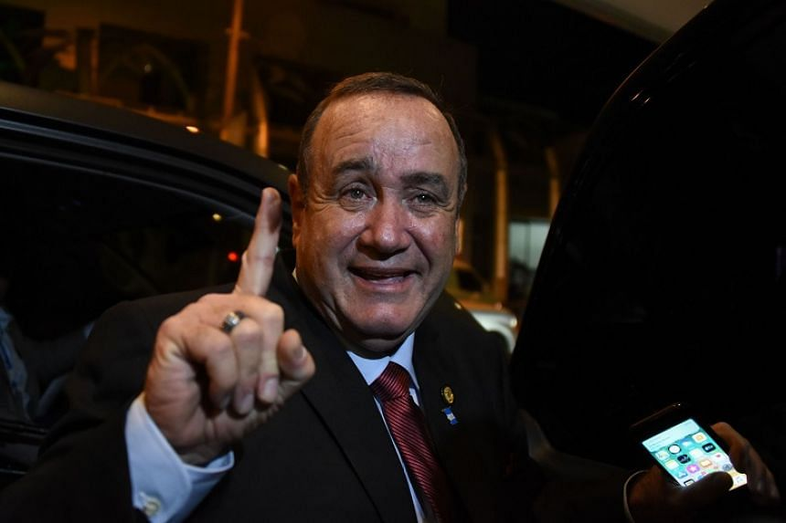 Conservative Alejandro Giammattei (above) will succeed corruption-tainted outgoing President Jimmy Morales, who leaves office in January.