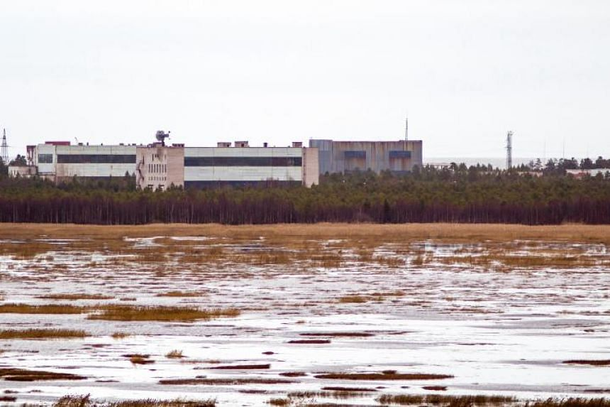 The accident took place at an Arctic military facility on the coast of the White Sea on Aug 8, 2019.