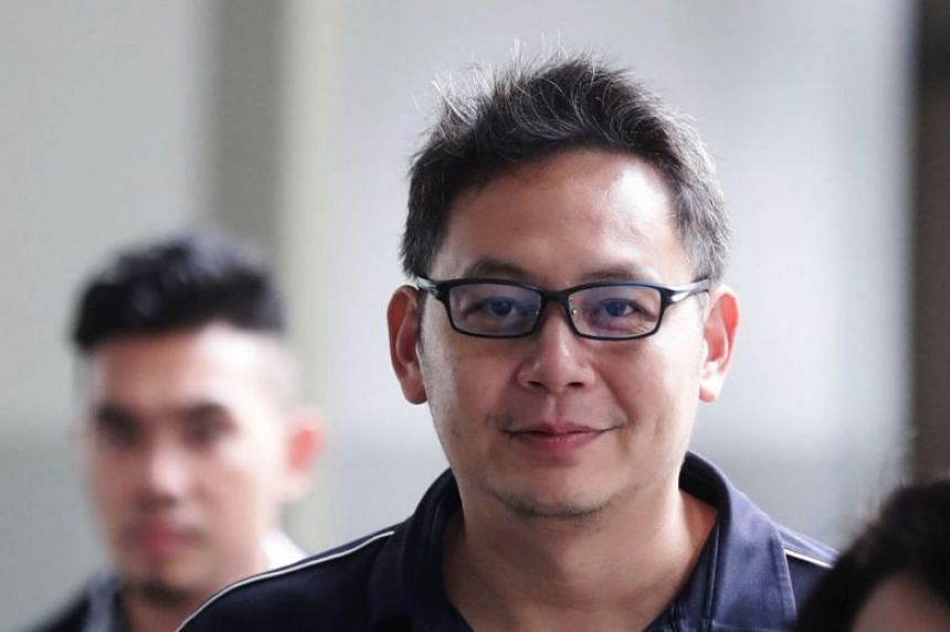Kelvin Liu Chin Chan, 44, was fined $3,500 on July 15, 2019, for harassing the man who was married to Liu's current wife at the time of the incident in 2016.