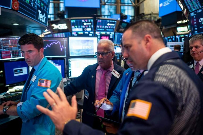 The Dow Jones Industrial Average dropped 1.5 per cent to close the session at 25,896.44.