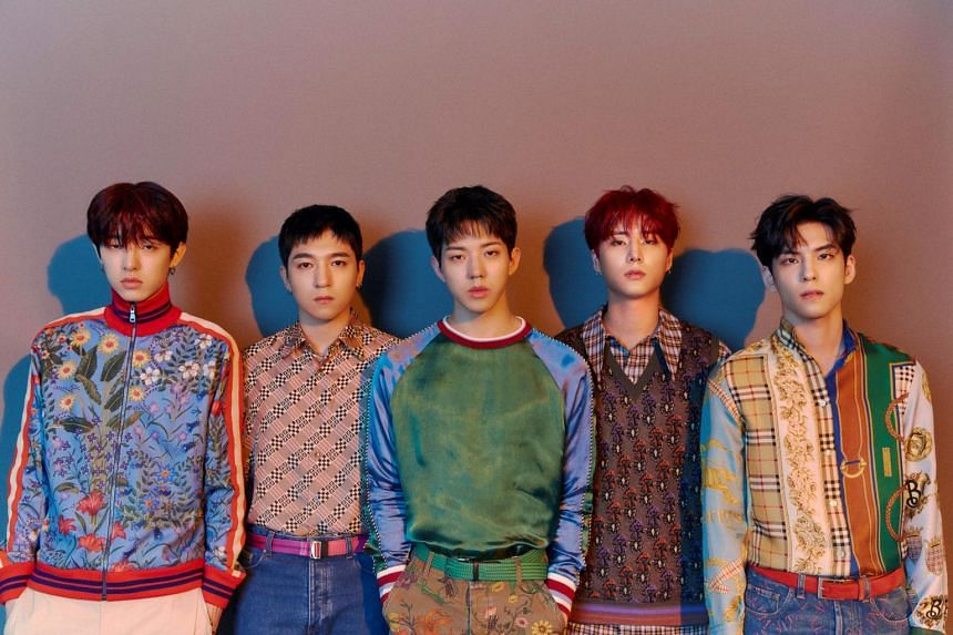 Day6, comprising Sungjin, Jae, Young K, Wonpil and Dowoon, entered the Korean music scene in 2015, and are known for their heart-tugging alternative rock songs.