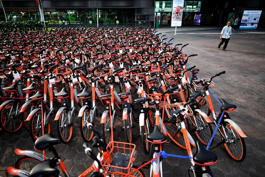 If the Mobike-SG Bike deal goes through, the total number of shared bikes in Singapore would remain at around 39,000.