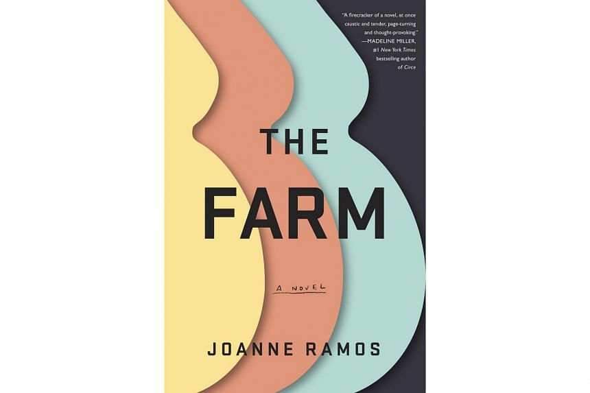 The Farm (above), the debut novel of Joanne Ramos, touches on inequality and the sacrifices of motherhood.