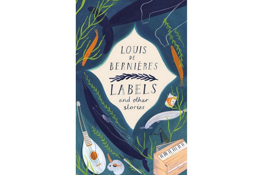 Labels And Other Stories (above) by Louis de Bernieres is a collection of 14 tales.