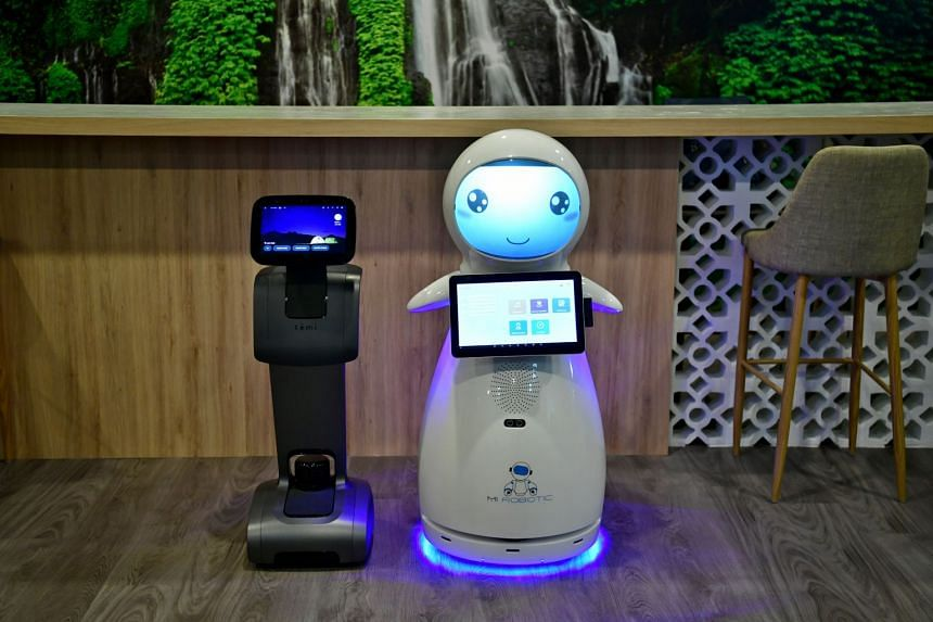 Robot Temi can assist in social services and Snow, in pre-school as a teaching aid.
