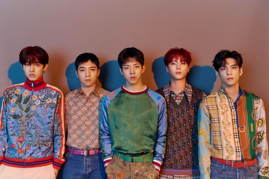 Day6 are known for their heart-tugging alternative rock songs.