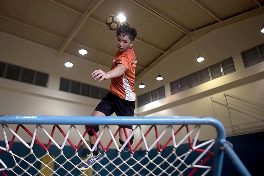Amos Chan, 15, will be looking to repeat history when he represents the U-18 boys in the World Youth Tchoukball championships here on Aug 16-18.
