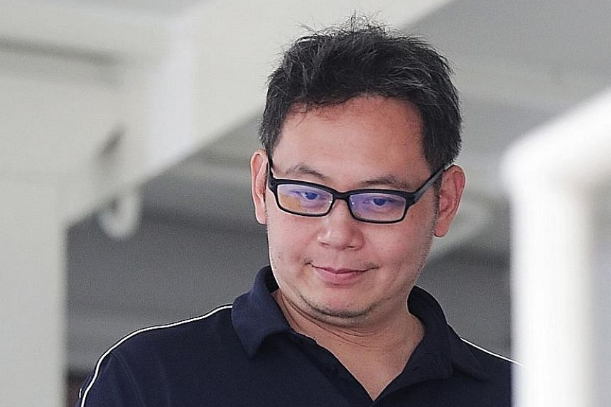 Kelvin Liu Chin Chan (left) was fined $3,500 last month for harassing Mr Desmond Tay Kwang Ju (above), who was married to Liu's current wife at the time of the harassment incident in 2016.