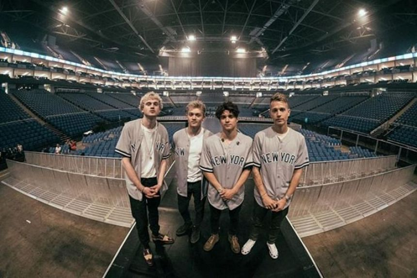 The band have been named Best British Group twice - in 2014 and 2016 - at the BBC Radio 1 Teen Awards.