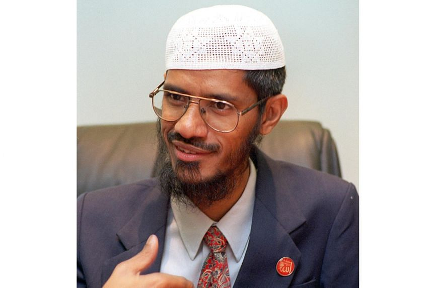"""In his latest controversial comments made at a talk about Islam in Kelantan, controversial Islamic preacher Zakir Naik has told the Chinese community in Malaysia to """"go back"""" first as they were the """"old guests"""" of the country."""