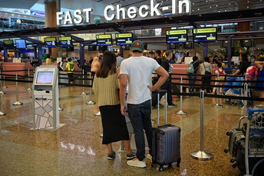 When The Straits Times went to Changi Airport on Aug 13, most travellers had been re-booked on the first few morning flights for Hong Kong.