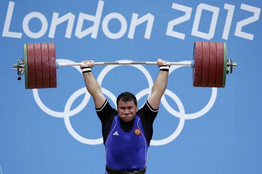 2012 Olympics bronze medallist Ruslan Albegov is one of the five suspended athletes.