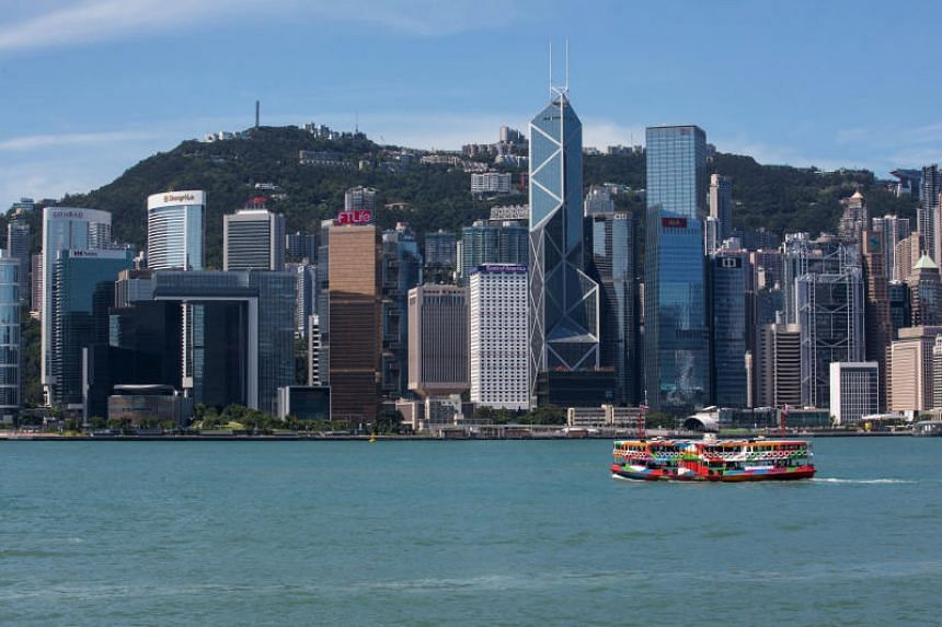 In a photo taken on Aug 5, a ferry sails across the Victoria Harbour. The move by China comes as the US and China spar in a protracted trade war and American lawmakers criticise the Hong Kong police's tactics against demonstrators.