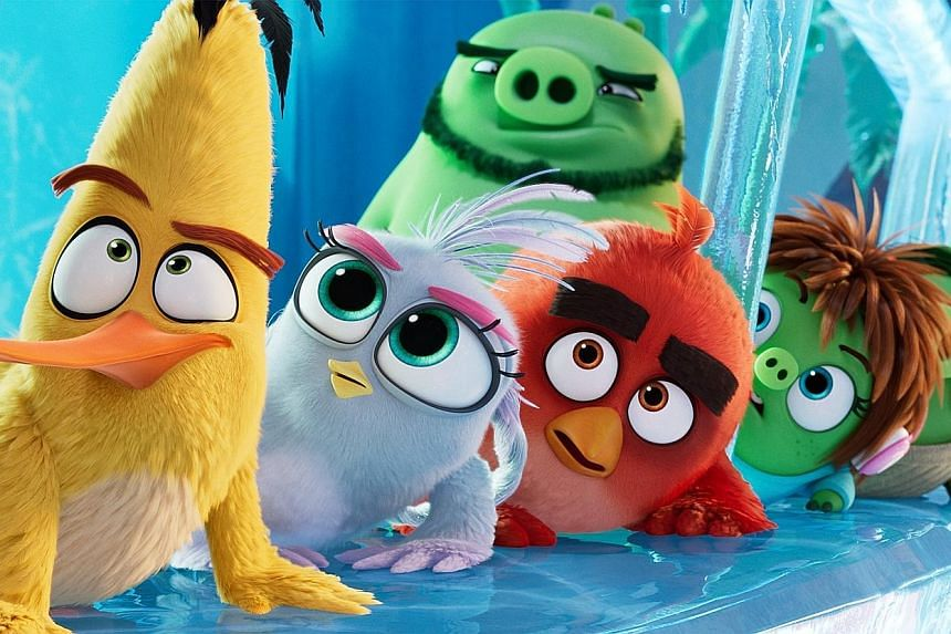 THE ANGRY BIRDS MOVIE 2.