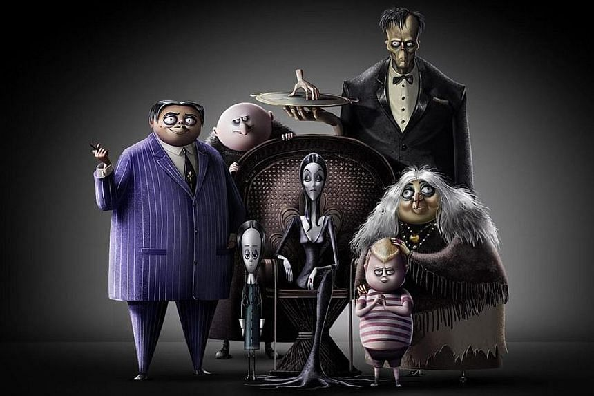 THE ADDAMS FAMILY.