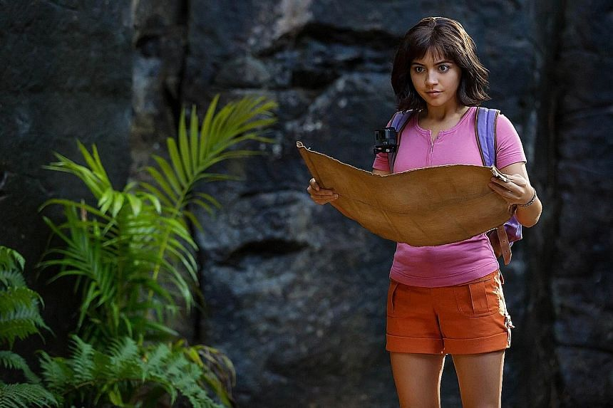 DORA AND THE LOST CITY OF GOLD.