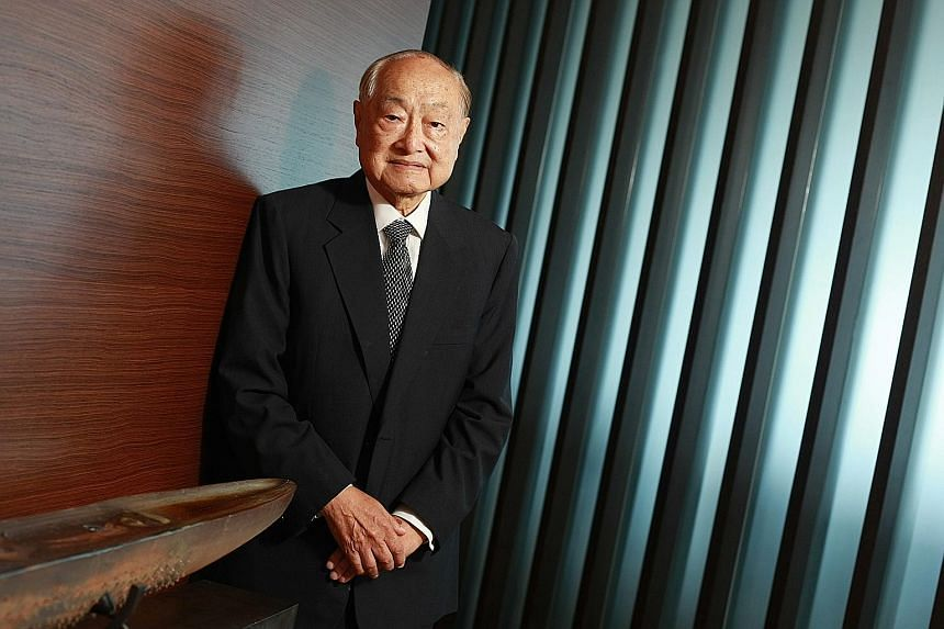 The late Tan Sri Frank Tsao was made an honorary Singapore citizen in 2008 for championing the nation's development as an international maritime hub.