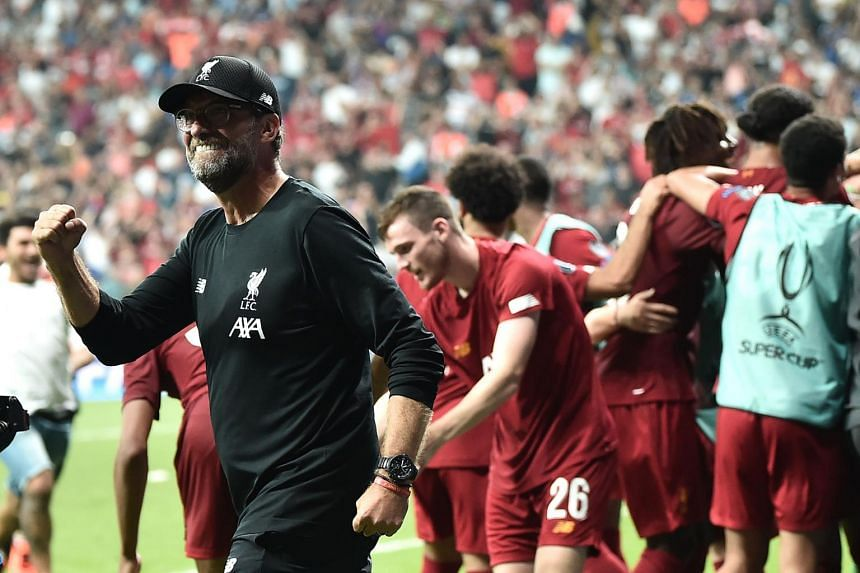 Jurgen Klopp admitted being pleasantly surprised by Adrian's performance after the European Super Cup win.