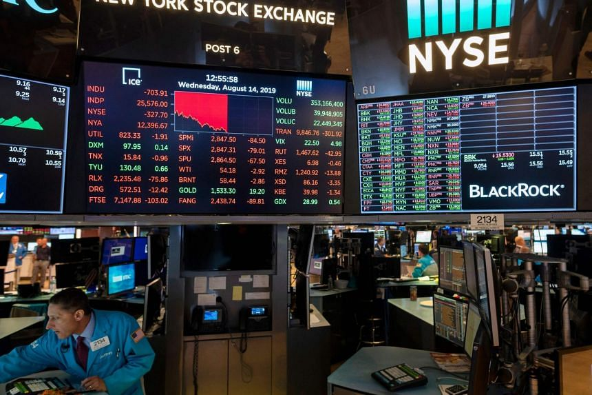 The Dow dived 800.49 points or 3.05 per cent to 2,5479.42, its worst percentage drop of the year and fourth-largest point drop of all time.