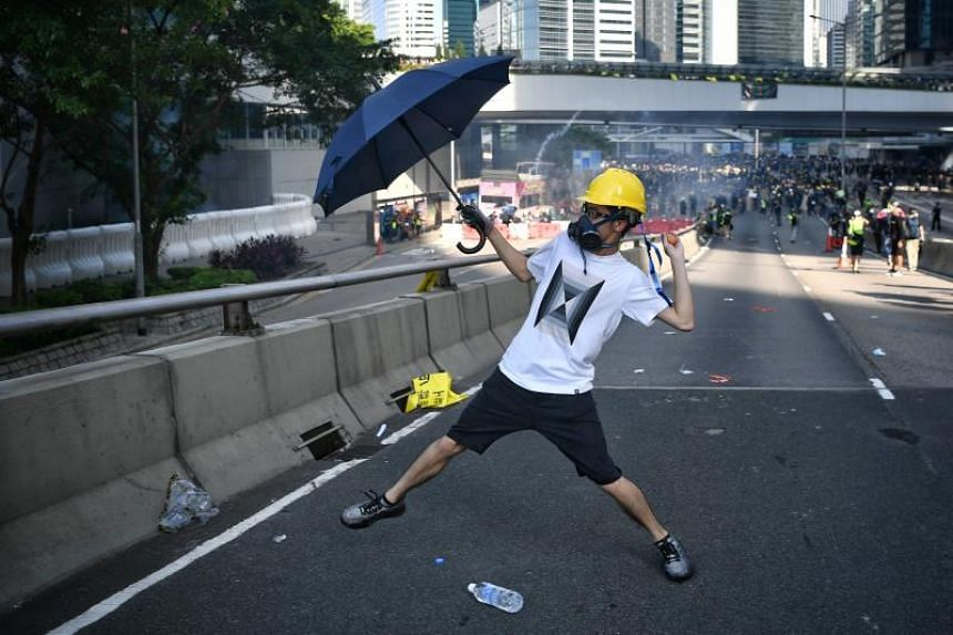 Authorities in Hong Kong are clamping down on the sale and importation of items they regard as tools of resistance.