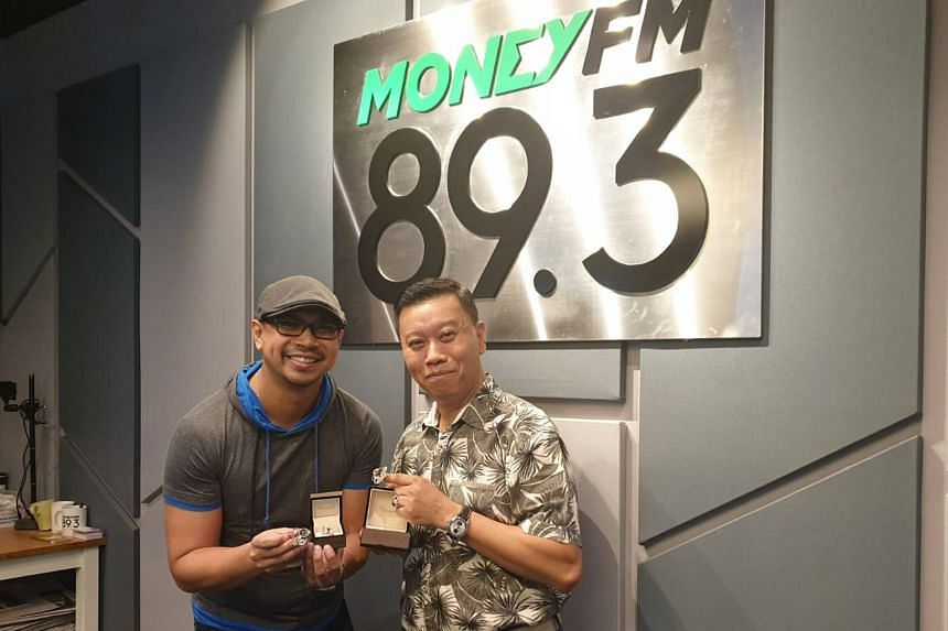 Mr Michael Koh (right), founder of Caratell Jewellery, shares more with Money FM's Elliott Danker in this podcast about his business, which has an annual turnover of over $5 million, as well as his journey in defying the odds.